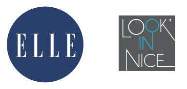 Logos de ELLE et Look'in Nice.