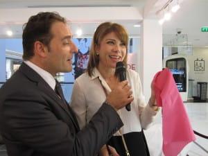 La consiellère en image Rennan et l'animateur du Show Mode de Nicétoile.