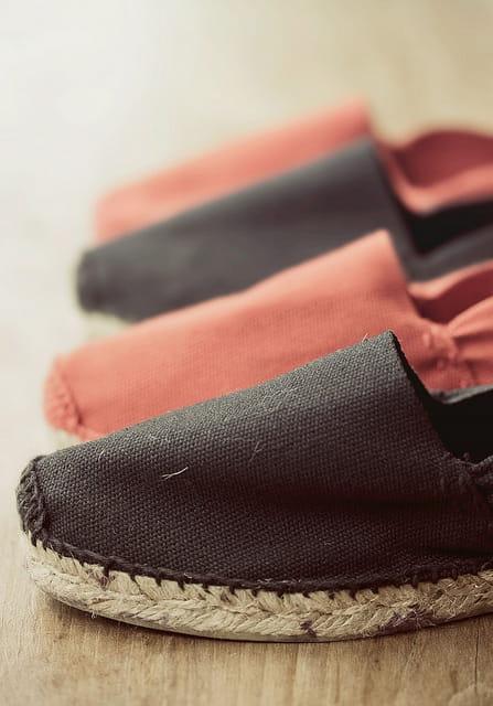 Les espadrilles, chaussures stars de l'été