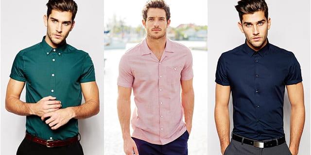 Look élégant en chemisette.